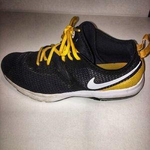 NIKE Air Max Pittsburgh Steelers athletic shoe